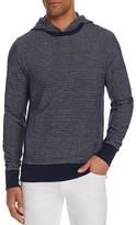 Michael Kors Textured Stripe Pullover Hoodie Sweatshirt