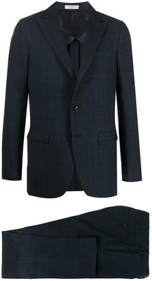 Boglioli Check Single-Breasted Suit