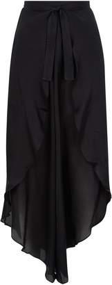 Gottex Cotton-Silk Surplice Beach Trousers