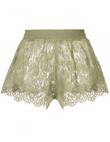 Puma Fenty x by Rihanna sheer lace mini shorts