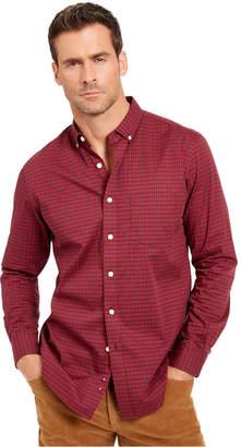 Club Room Men Regular-Fit Stretch Check Shirt