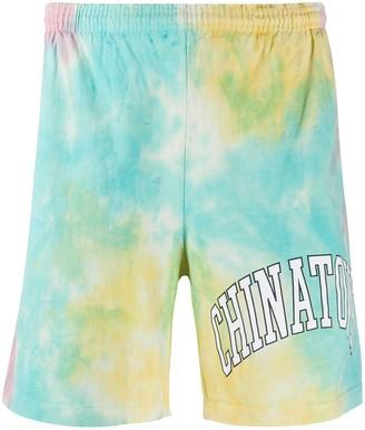 Chinatown Market Tie-Dye-Print Track Shorts