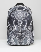 adidas Backpack In Peacock Print AY9366