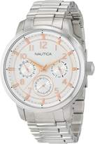 Nautica Men's NAD16554G NCT 15 MULTI II Analog Display Quartz Watch