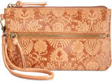 The Sak Sanibel Embossed Wristlet with Charger