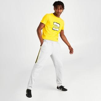 Lacoste Men's SPORT Side Stripe Fleece Jogger Pants