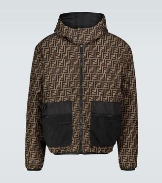 Fendi FF padded reversible jacket