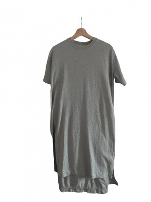Acne Studios Grey Cotton Dress for Women
