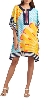Trina Turk Theodora Printed Silk Dress