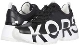 MICHAEL Michael Kors Cosmo Trainer (Black) Women's Lace up casual Shoes