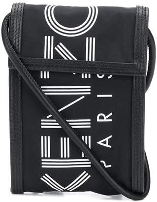 Kenzo logo print crossbody bag