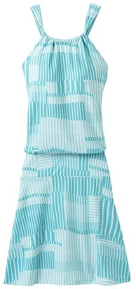 Prana Avore Dress (Azurite Wave) Women's Dress