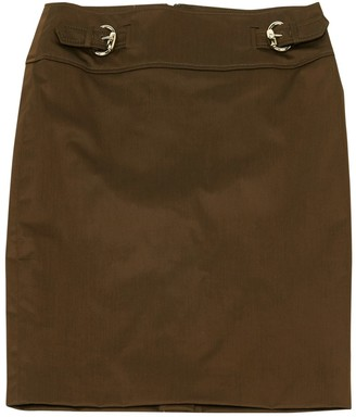 Gucci Brown Cotton Skirt for Women