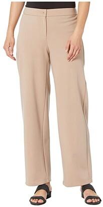 Eileen Fisher Petite Straight Pants (Bramble) Women's Casual Pants