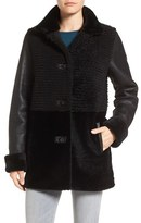 Blue Duck Women's Grooved Genuine Shearling Jacket