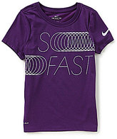 Nike Big Girls 7-16 Dri-FIT So Fast Tee