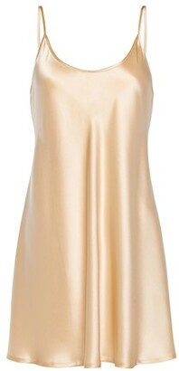La Perla Slip Dress In Silk
