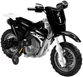 Black Honda CRF250R 6V Dirt Bike Ride-On