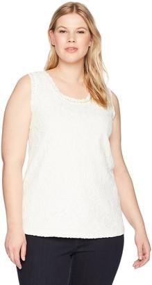 Junarose Women's Plus Size Sonna Sleeveless Top