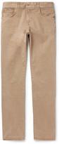 Boglioli - Slim-fit Washed Stretch-denim Jeans