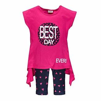 MEK Girl's Compl.t-shirtmoda+Legg. Fantasia Clothing Set