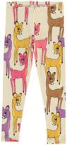 Mini Rodini Organic Cotton Pink Fawn Leggings
