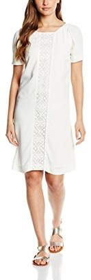 Sinéquanone Women's R002766 Cocktail Short Sleeve Party Dress - Off-White