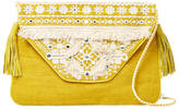 Antik Batik Belly Embroidered Cotton Crossbody