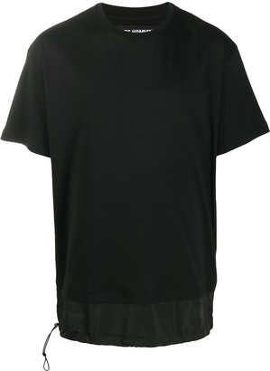 Les Hommes layered-effect T-shirt