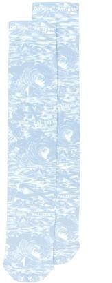 Off-White Printed Socks