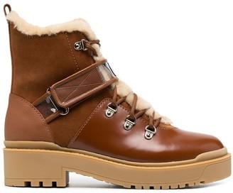 Valentino Platform Heel Winter Booties