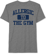 JEM Men's Allergic to the Gym Graphic-Print T-Shirt