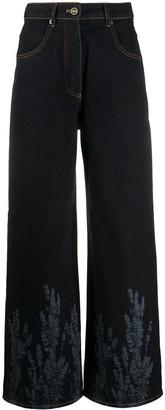 Jacquemus Nimes laser print jeans