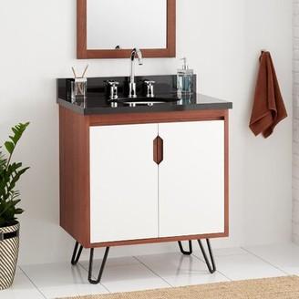 """Millie 30"""" Single Bathroom Vanity Signature Hardware"""
