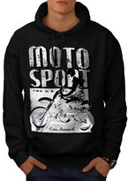 Moto Bike Sport Race Dirt Track Men XXXL Hoodie | Wellcoda