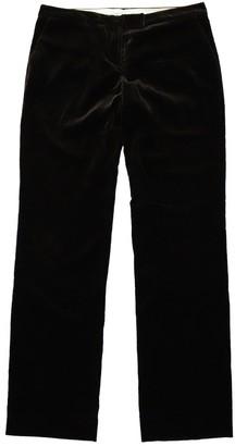 Fabiana Filippi Brown Cotton Trousers for Women