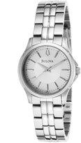Bulova Women's 96L152 Metallic Stainless-Steel Quartz Watch