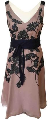Coast Pink Silk Dress for Women