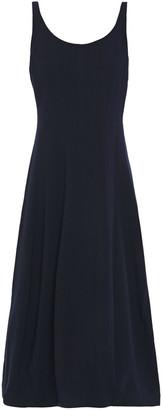 Halston Ponte Midi Dress