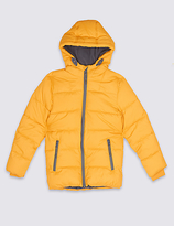 Marks and Spencer Zipped Through Padded Coat with StormwearTM (3-14 Years)
