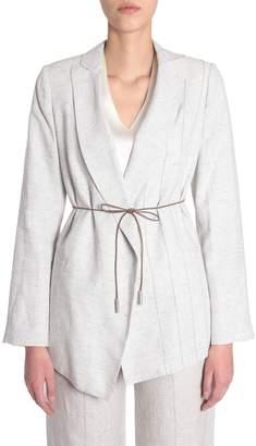 Fabiana Filippi Linen And Silk Jacket
