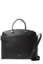 Furla Agata Large Leather Satchel