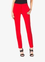 Michael Kors Samantha Wool-Gabardine Skinny Pants