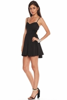 Lovers + Friends Love Games Dress in Black
