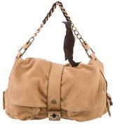 Lanvin Suede Messenger Bag