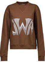 J.W.Anderson Printed Cotton-Jersey Sweatshirt