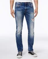 True Religion Men's Rocco No Flap Skinny-Fit Jeans