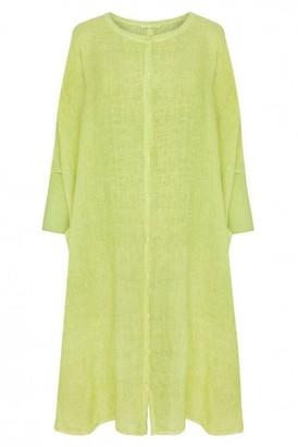 Elemente Clemente - Saori Oversize Linen Dress - Small