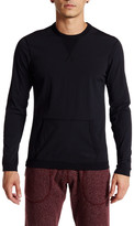 Reigning Champ Stretch Nylon Side Zip Crew Neck Tee