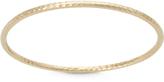 Tiara 14K Yellow Gold Hammered Bangle Bracelet Bracelet
